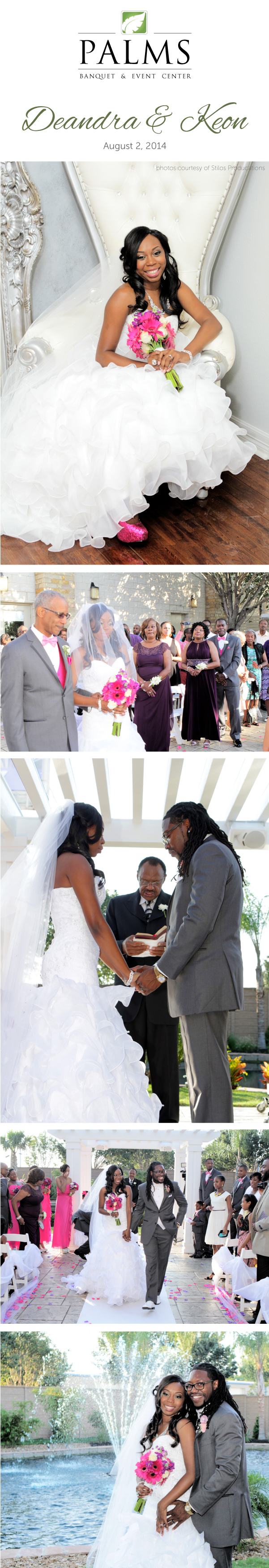 Deandra & Keon - Pink & Purple Wedding